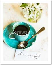Coffee Time And Spring Art Print/Canvas Print Home Decor Wall Art