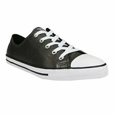 Converse Chuck Taylor Dainty Ox Fashion Sneaker Shoe - Womens, Black / White