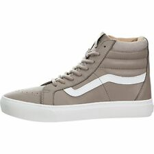 Vans Womens Sk8 Hi Cup Hight Top Lace Up Fashion Sneakers, Brown
