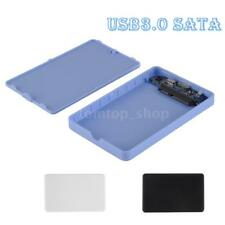 "USB 3.0 2.5"" SSD HDD External Enclosure Case Hard Disk Drive Box Tool-free C3F3"