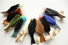 Vintage NOS millinery hat feather quill trim, 3215, made in France 1920s.