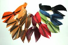 Feather bow fancy trim, 3303 NOS vintage hat millinery supplies 1920s