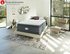 Beautyrest Platinum Haven Pines Plush Pillow Top Mattress - In Home White...