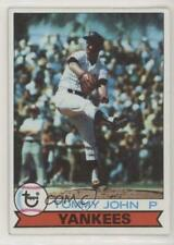1979 Topps Burger King Restaurant New York Yankees #9 Tommy John Baseball Card