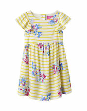 Joules Woven Party Dress - Margate Floral Stripe