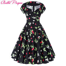 Belle Poque Audrey Hepburn Robe Retro Rockabilly Dress 2017 jurken 60s Swing ...