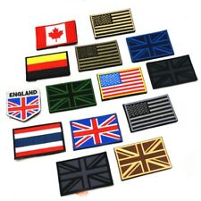 Nation Flag Emblem Iron On Patch Embroidered Applique National Country Style US