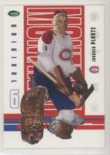 2003-04 Parkhurst Original Six Montreal Canadiens #59 Jacques Plante Hockey Card