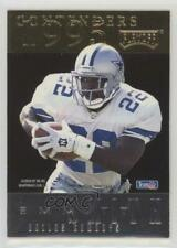 1995 Playoff Contenders Back-to-Back 2 Emmitt Smith Marshall Faulk Football Card