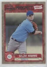 2011 Playoff Contenders Prospect Tickets Crystal Collection #RT48 Dillon Howard