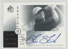 2001 SP Authentic Sign of the Times SS Steve Stricker Auto Autographed Golf Card