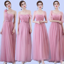 Ever-Pretty Lace Formal Evening Prom Dress Pleated Long Bridesmaid Dresses Gown