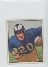1950 Bowman #53 Dick Huffman Los Angeles Rams RC Rookie Football Card