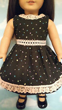 """Dress handmade to fit 18"""" American Girl Doll 18 inch Doll Clothes 9b"""
