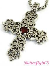 Brighton ENDLESS LOVE Cross Necklace - NWOT