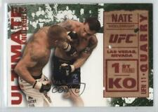 2013 Topps UFC Knockout Ultimate Knockouts Green UKO-23 Nate Quarry vs Pete Sell