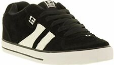 Globe Encore 2 Black White Suede Mens Skate Trainers Shoes Boots