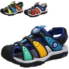 New Boys Children's Summer Sports Beach Sandals Closed Toe for Kids Casual Shoes