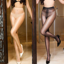 JZ_ Lady Seamless T Crotch Pantyhose Sheer Tights Stretchy Footed Stockings Sp
