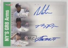 2008 TRISTAR PROjections #BPC Dellin Betances Anthony Claggett Ryan Pope Auto
