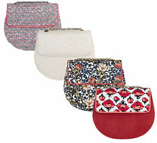 NEW Ruby Shoo Miami Clutch Ivory Pink Grey Brocade Red White Spotty Blue Floral