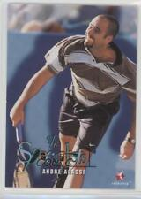 1996 Intrepid Blitz ATP Tour #96 The Specialists Andre Agassi Tennis Card