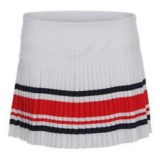 FILA - Women`s Heritage Pleated Tennis Skort White and Chinese Red - (TW181D22-1