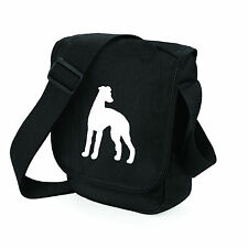 Whippet Bag Mini Reporter Dog Walker Shoulder Bags Greyhound Whippet Gift