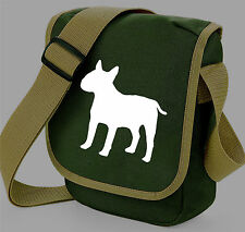 English Bull Terrier Reporter Bags Dog Walkers Shoulder Bag Gift Colour Choice