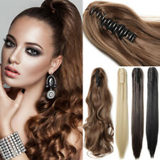 100% Natural as Human Claw Clip in Hair Extensions HAIR EXTENSIONS as Human PT7