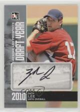 2011 In the Game Heroes and Prospects DY-ZL Zach Lee Great Lakes Loons Auto Card