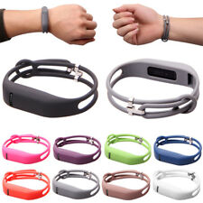 Replacement Wrist Band Silicon Strap Bracelet Buckle For Fitbit Flex Wristband