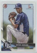 2018 Bowman Prospects #BP16 Michael Mercado Tampa Bay Rays Rookie Baseball Card
