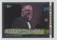 2017 Topps WWE Slam Attax 10th Edition #56 OMG Mirror Foil Ultimate Warrior Card