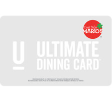 East Side Mario's Gift Card $25, $50, or $100 - Email Delivery