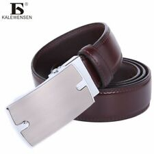 KALEWENSEN® Casual Belt Men Cow Leather Belt For Jeans Famous Custom Cowboy
