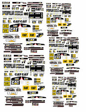 1:32 1:64 DECALS FOR DIECAST CATERPILLER FARM TRACTORS & DIORAMA