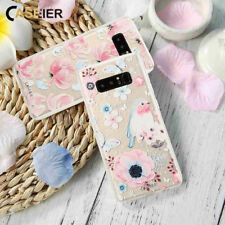 CASEIER® Flowers Phone Soft Case For Samsung Galaxy S6 S7 Edge S8 S9 Plus Note 8