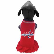 WASHINGTON CAPITALS  NHL Pet Dog Premium Cheerleader Dress (8 sizes)