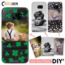 CASEIER® DIY Photo Silicone Phone Case Samsung S5 S6 S7 S8 Plus Note 4 5 8