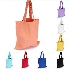 Women Girl Canvas Shopping Handbag Shoulder Tote Shopper Beach Bag US.