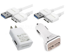 Original OEM Samsung Wall Car Charger 3.0 USB Cable For Samsung Galaxy S5 Note3