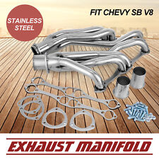 CE Stainless Steel Truck Headers Fits Chevy 5.0L 5.7L 305 327 350 400 V8 Use