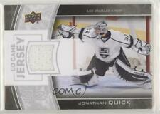 2013 Upper Deck Series Two UD Game Jersey GJ-JQ Jonathan Quick Los Angeles Kings