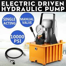 ELECTRIC DRIVEN HYDRAULIC PUMP 10000PSI REMOTE CONTROLLED HIGH 70MPA ON SALE