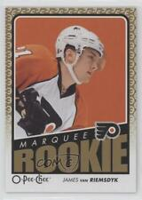 2009 O-Pee-Chee 798 James van Riemsdyk Philadelphia Flyers RC Rookie Hockey Card