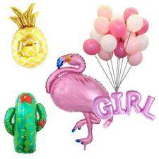 Flamingo Balloons Baby Shower Pineapple Party Birthday Decoration Boys Girls