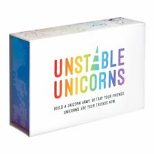 New Unstable Unicorns White Game, Core Game, NSFW Pack, Rainbow Pack Party Game