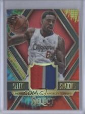 2014 Panini Select Swatches Tie-Dye Prizm 45 DeAndre Jordan Los Angeles Clippers