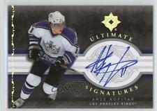 2006-07 Ultimate Collection Signatures US-AK Anze Kopitar Los Angeles Kings Auto